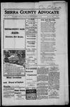 Sierra County Advocate, 1917-03-23 by J.E. Curren