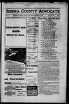 Sierra County Advocate, 1917-03-30 by J.E. Curren