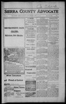 Sierra County Advocate, 1917-04-20