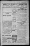 Sierra County Advocate, 1917-04-27 by J.E. Curren