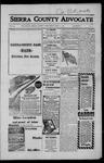 Sierra County Advocate, 1917-06-01