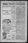 Sierra County Advocate, 1917-06-08 by J.E. Curren