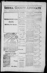 Sierra County Advocate, 1917-06-15 by J.E. Curren