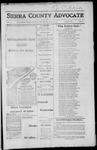 Sierra County Advocate, 1917-06-22 by J.E. Curren