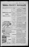 Sierra County Advocate, 1917-06-29 by J.E. Curren