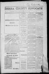 Sierra County Advocate, 1917-07-06 by J.E. Curren
