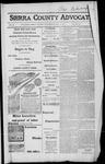 Sierra County Advocate, 1917-07-13 by J.E. Curren