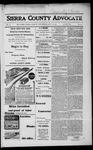 Sierra County Advocate, 1917-07-20 by J.E. Curren