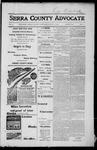 Sierra County Advocate, 1917-07-27 by J.E. Curren
