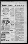 Sierra County Advocate, 1917-08-03 by J.E. Curren