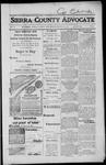 Sierra County Advocate, 1917-08-17 by J.E. Curren