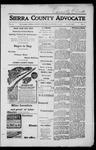 Sierra County Advocate, 1917-08-24