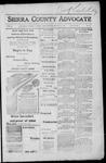 Sierra County Advocate, 1917-08-31 by J.E. Curren