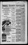 Sierra County Advocate, 1917-10-05 by J.E. Curren