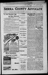 Sierra County Advocate, 1917-10-19 by J.E. Curren