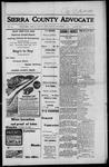 Sierra County Advocate, 1917-11-02 by J.E. Curren