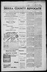 Sierra County Advocate, 1917-11-23 by J.E. Curren