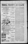Sierra County Advocate, 1917-11-30 by J.E. Curren