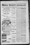 Sierra County Advocate, 1917-12-07 by J.E. Curren