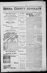 Sierra County Advocate, 1917-12-21 by J.E. Curren