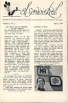 El Servicio Real Volume 2 No. 1 (1966) by The UNM Physical Plant Department