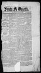 Santa Fe Gazette, 07-03-1860