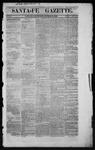 Santa Fe Gazette, 10-13-1860