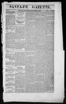 Santa Fe Gazette, 11-03-1860
