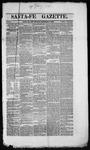 Santa Fe Gazette, 12-08-1860