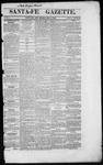Santa Fe Gazette, 05-04-1861
