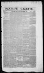 Santa Fe Gazette, 09-07-1861
