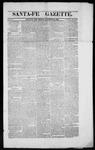 Santa Fe Gazette, 11-16-1861
