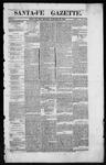 Santa Fe Gazette, 01-18-1862