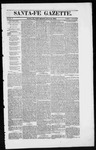 Santa Fe Gazette, 07-12-1862