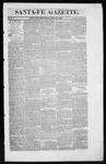 Santa Fe Gazette, 07-26-1862