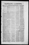 Santa Fe Gazette, 08-30-1862