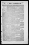 Santa Fe Gazette, 09-13-1862