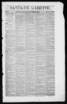 Santa Fe Gazette, 11-22-1862