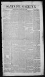 Santa Fe Gazette, 05-09-1863