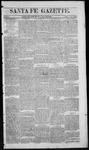 Santa Fe Gazette, 05-23-1863