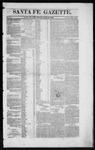 Santa Fe Gazette, 06-13-1863