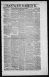 Santa Fe Gazette, 08-08-1863