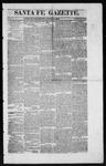 Santa Fe Gazette, 08-15-1863