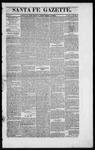 Santa Fe Gazette, 09-12-1863