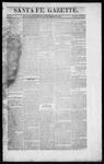 Santa Fe Gazette, 09-19-1863
