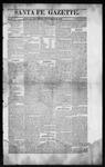 Santa Fe Gazette, 09-26-1863