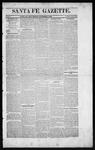Santa Fe Gazette, 10-03-1863