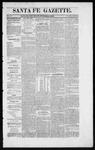Santa Fe Gazette, 10-10-1863