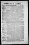 Santa Fe Gazette, 10-24-1863