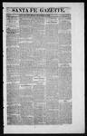 Santa Fe Gazette, 11-14-1863